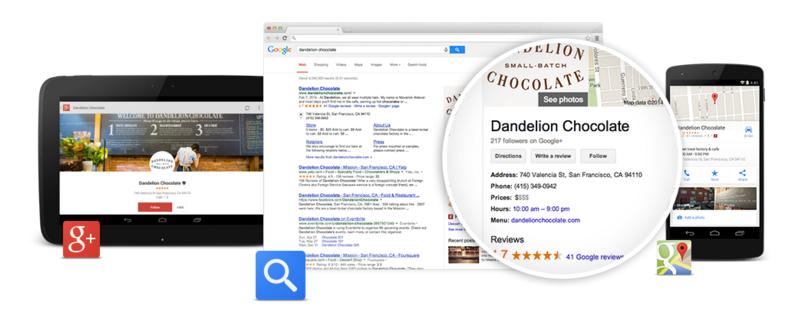 Създаване на рекламна страница в Google local business